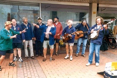 Busking in Vegesack